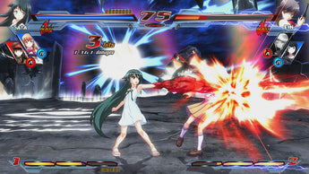 Nitroplus Blasterz: Heroines Infinite Duel Updated on PS3 and PS4!