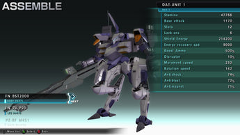 ASSAULT GUNNERS HD EDITION Beginners Customisation Guide & FAQ