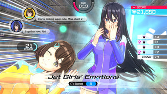 Kandagawa Jet Girls 'races' across Europe and Australia today on PlayStation 4