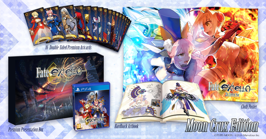 Fate/EXTELLA: The Umbral Star - Moon Crux Edition (PlayStation 4)
