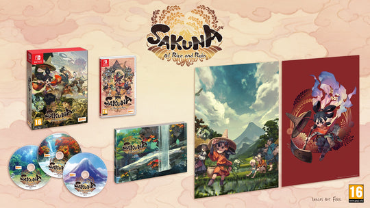 Sakuna: Of Rice and Ruin - Golden Harvest Edition (Switch)