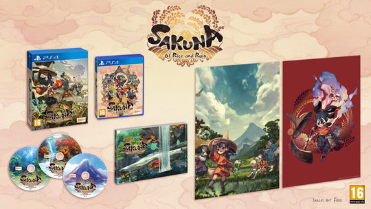 Sakuna: Of Rice and Ruin - Golden Harvest Edition (PS4) [PRE-ORDER]