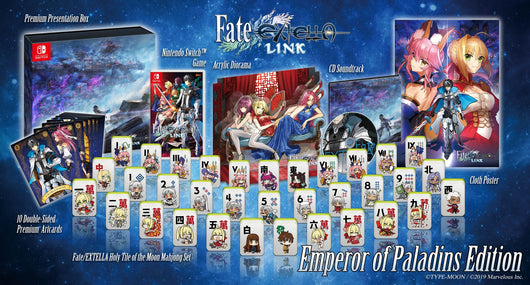 Fate/EXTELLA LINK - Emperor of Paladins Edition (Switch)
