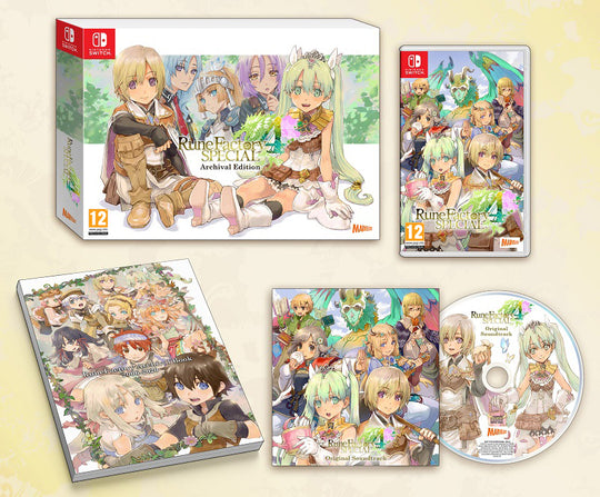 Rune Factory 4 Special - Archival Edition (Switch) (PRE-ORDER)
