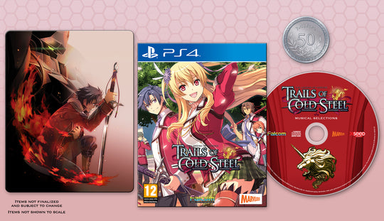 The Legend of Heroes: Trails of Cold Steel - Decisive Edition (PS4)