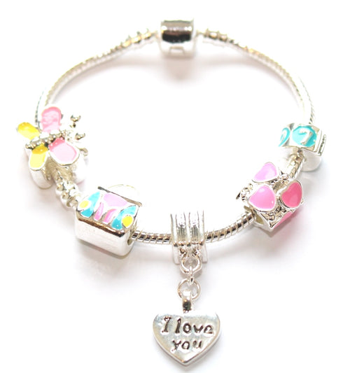 little treasure charm bracelet birthday gift for girls