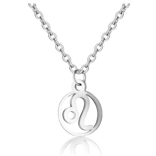Children's Zodiac Sign Pendant Necklace  Leo (July 23-August 22)