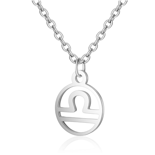 Children's Zodiac Sign Pendant Necklace  Libra (September 23-October 22)