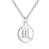 Children's Zodiac Sign Pendant Necklace  Scorpio (October 23-November 21)