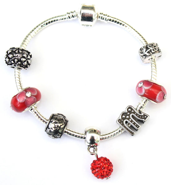 Scorpio 'The Scorpion', Zodiac Sign Silver Plated Charm Bracelet (Oct 23- Nov 21)