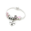 Children's 'Tooth Fairy' Silver Plated Charm Bracelet