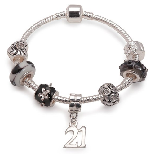 Black Magic Bracelet 21st Birthday Gifts Girl And Charm For 21 Year Old