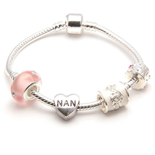 pink nan bracelet and nan jewellery