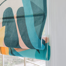 Quick Fix Washable Roman Window Shades Flat Fold, Lausanne