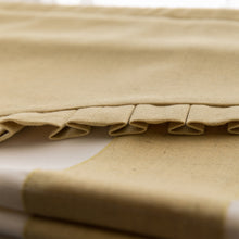 Valance,Classic roman shade, custom made, washable Cotton and linen fabric flat and fold with cord, yellow,SG-087