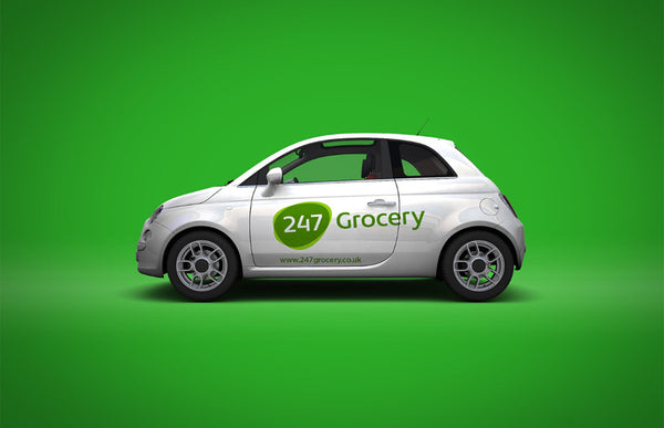 24/7 Grocery car