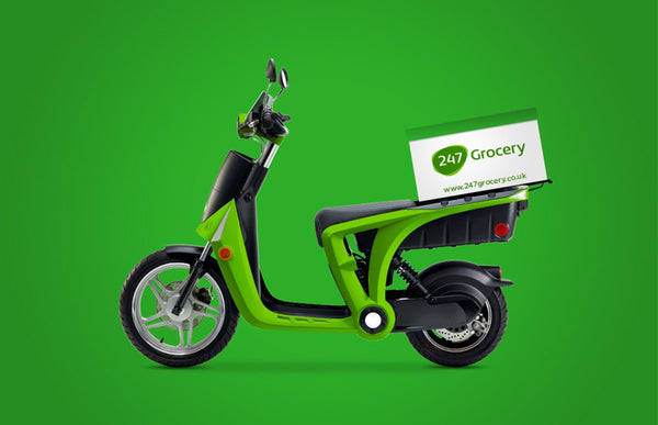 24/7 Grocery motor cycle
