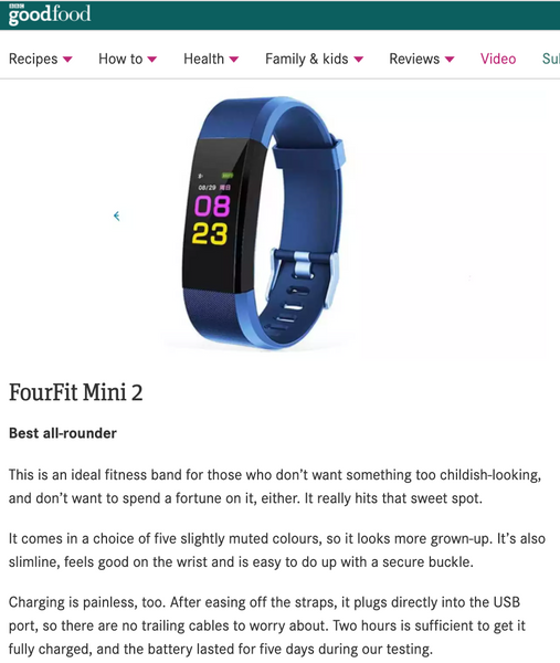 Fourfit Mini 2 Kids tracker