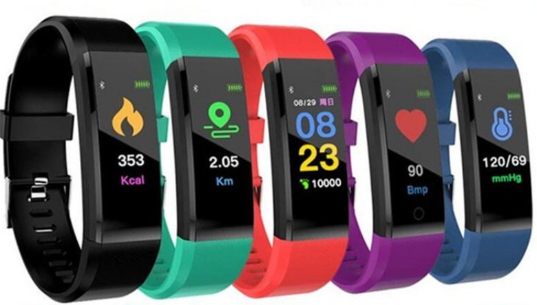 FOURFIT Health+ Lung Health Fitness tracker with Blood Oxygen Sats 2021
