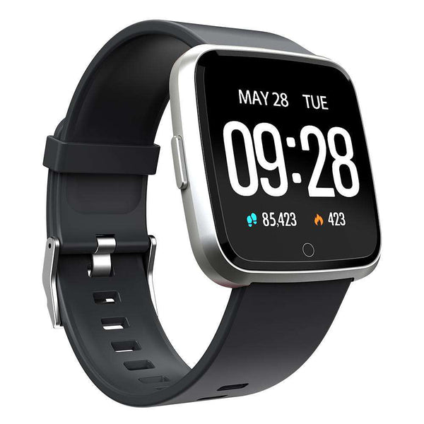 Fourfit signa smartwatch silver and grey