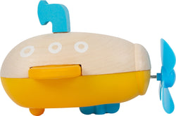 Small Foot Wind Up Submarine