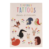 RUSTY & FRIENDS TEMPORARY TATTOOS