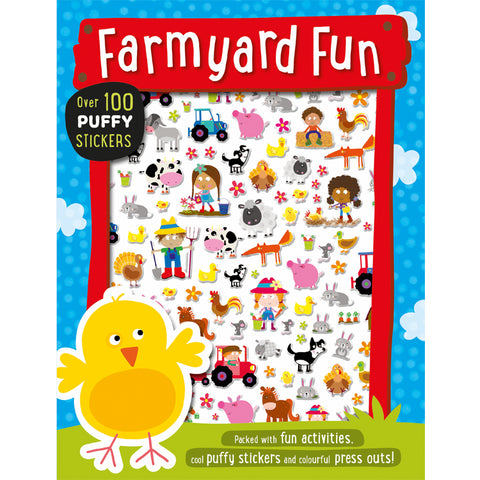 Farmyard Puffy Stickers