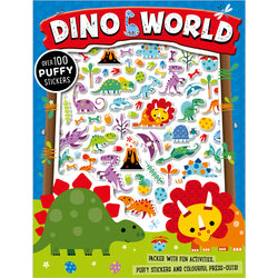 Dinosaurs Puffy Stickers Children's Sticker Books