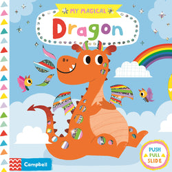 My Magical Dragon Board Book Children's Books