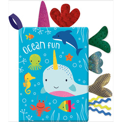 Ocean Fun Cloth Book Children's Cloth Books
