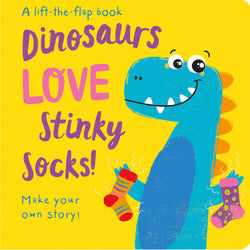 Dinosaurs LOVE Stinky Socks Children's Books