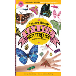 Fluttery, Friendly Tattoo Butterflies