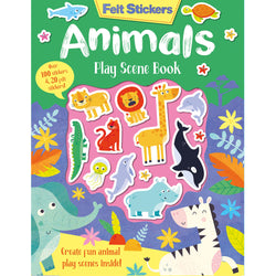 Animal Felt Stickers