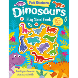 Dinosaur Felt Stickers