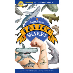 Super, Strong Tattoo Sharks