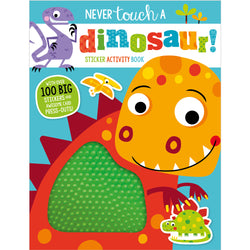 Never Touch a Dinosaur! Sticker Activity