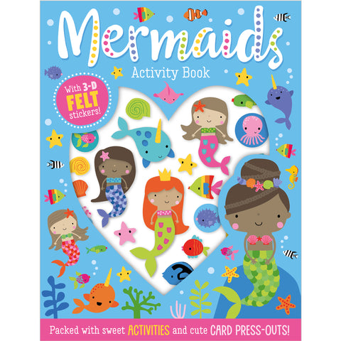 Mermaids Felt Stickers