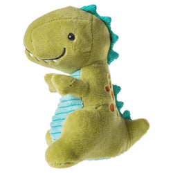 Pebbles Dinosaur Soft Baby Rattle By Mary Meyer
