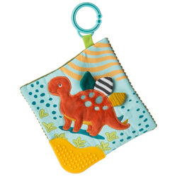 Pebbles Dinosaur Crinkle Teether  By Mary Meyer