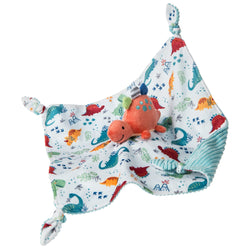 Pebblesaurus Dinosaur Super Soft Character Snuggle Blanket By Mary Meyer