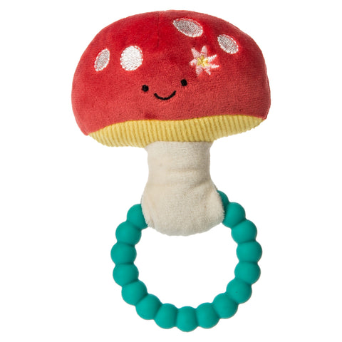 Fairyland Mushroom Baby Teether Rattle By Mary Meyer