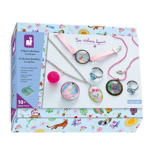 Lovely Pets Cabochon Jewellery - Janod