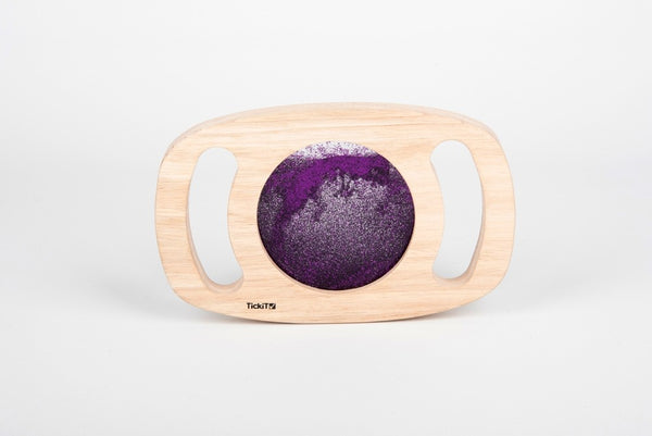 Tickit Easy Hold Purple Glitter Panel
