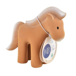 Tikiri My 1st Tikiri Farm Horse – Natural Rubber Rattle and Bath Toys