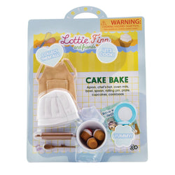 Cake Bake Accessories Set by Lottie Dolls