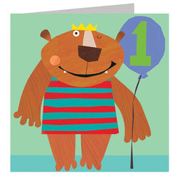 Bear Number 1 Happy Birthday