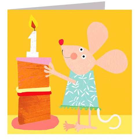 Little Mouse 1 Card
