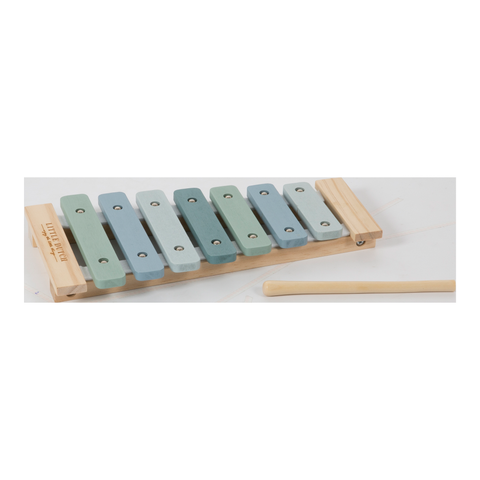 Little Dutch Wooden Xylophone Blue