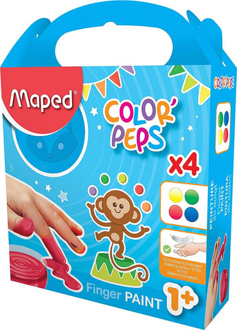 Colour Peps Finger Paint Pot by Maped