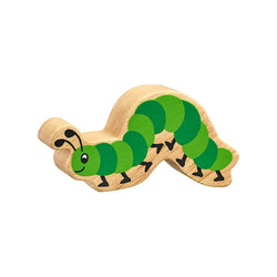 Lanka Kade Wooden Natural Green Caterpillar